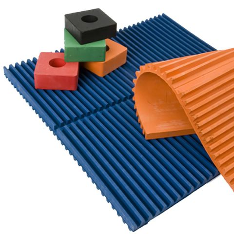 Antivibration pads & mats